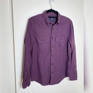 NWT Abercrombie & Fitch Cotton Button-up